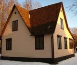 Остекление дома пластиковыми окнами PROPLEX и установка защитных рольставень.