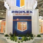 Остекление стенда компании Проплекс на выставке BUILDEX'2013